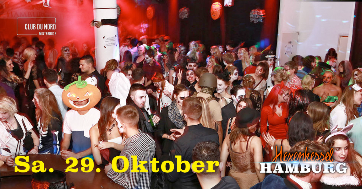 Tickets kaufen für Hexenkessel - Hamburgs bekannteste Halloween ...